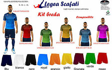 Kit Breda Legea 8 kit 128€ Sport Calcio Divisa Set Muta