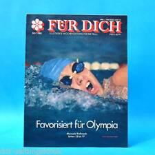 DDR FÜR DICH 38/1988 SC Dynamo Berlin Friedrichshagen Schleife Cottbus Mode