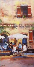"JAMES PRATT  ""L'AUBERGE DU MARRO"" Hand Signed Giclee on Canvas"