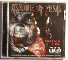Cradle Of Fear SoundtrCD New Cradle Of Filth Dark Poets