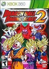 DRAGON BALL Z RAGING BLAST 2 Microsoft XBox 360 Game