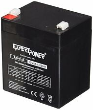 ExpertPower {EXP1250} 12V 5Ah Home Alarm Battery with F1 Terminal Black New LA-B