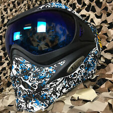 NEW V-Force Grill Thermal Anti-Fog Paintball Mask Goggle - SE Grunge Teal