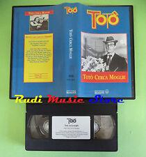 VHS film TOTO' CERCA MOGLIE Ave Ninchi Bragaglia BRAMANTE FCV 1003 (F82) no dvd