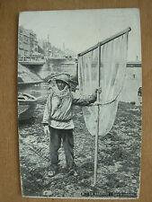 VINTAGE POSTCARD TYPE DE PECHEUR FISHERMAN - LE TREPORT FRANCE