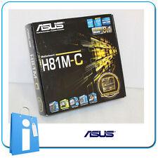 Placa base mATX H81 ASUS H81M-C Socket 1150 con Accesorios