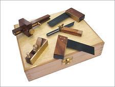 Faithfull miniset 5 set de 5 mini ebenisterie/modélisme outils dans coffret en bois