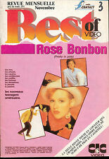 BEST OF VIDEO 03/87 Molly Ringwald Andrew McCarthy JEFF BRIDGE WALT DISNEY
