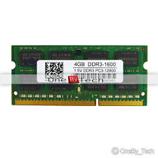 New 4GB PC3-12800S PC3-12800 DDR3-1600MHz 204pin Sodimm Laptop Memory NON-ECC