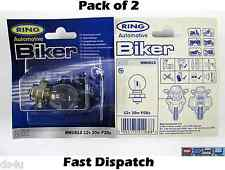 12v 20w P26s Motorbike/Scooter Headlight Bulb - Ring RMU613 *Pack of 2*