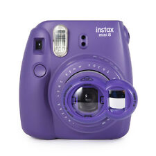 Close Up Lens+Selfie Mirror for Fujifilm Instax Mini 8 7s Polaroid 300 - Purple