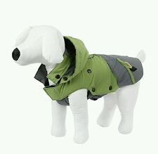 Kerbl Outdoor Dog Coat Vancouver (small) 35cm Green/Grey This is also REFLECTIVE