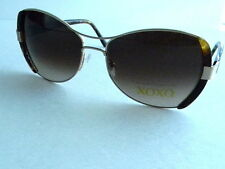 XOXO 2328 Authentic Sunglasses Gold NEW with Case