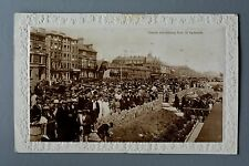 R&L Postcard: Art Deco Great Yarmouth Parade Busy Scene 1920s
