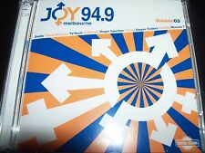 Joy 94.9 FM Vol 3 CD Ft Dannii Minogue Tina Cousins Goldfrapp Joey Negro & More