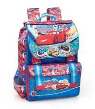 Disney Cars Backpack Rucksack Expandable Large Boys Travel School Bag McQueen