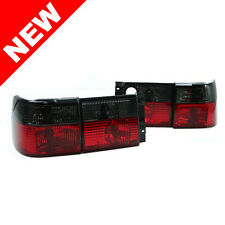 93-99 VW Jetta Vento MK3 Euro Taillights - Crystal Smoke/Red