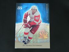 2007-08 SP Authentic Holoview FX #9 Henrik Zetterberg Detroit Red Wings