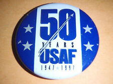 VINTAGE: 50 YEARS USAF 1947-1997 BUTTON