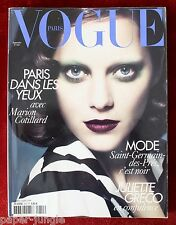Vogue Paris ~ #910 September 2010 ~ Marion Cotillard Kate Moss Freja Erichsen