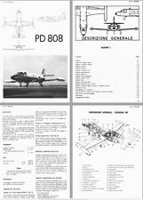 Piaggio PD.808 Jet Manual Douglas Historic Period Archive 1960's 70's RARE