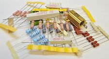 ELECTRONIC COMPONENTS ASSORTMENT -  POWER RESISTORS, MIXED POWER RESISTORS -50pk
