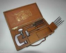 luxueux coffret d' outils de décoration du cuir - l'artisan pratique - marteau