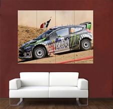 Ken Block Ford Rally GRANDE POSTER s689
