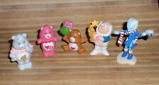 Care Bears Vintage 80's PVC Minis Lot Cloud Keeper Professor Cold Heart Grams