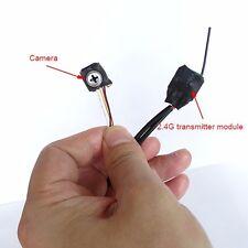 2.4G wireless+Con cavo mini vite modello Videocamera 800tvl micro Camera