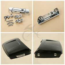 Chrome Tour Pak Pack Trunk Latch for Harley Touring Glide FLHT FLHX 14 15 16 17