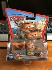 Disney Pixar Cars 2 Race Team Mater - Sealed Blister Pack