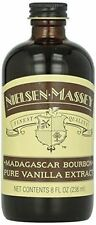 Nielsen-Massey Madagascar Bourbon Vanilla Extract 8oz Bottle NEW Factory Sealed