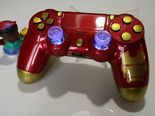 Manette PS4 Customisé à l'aérographe !!! Dualshock 4 Sixaxis Iron Man