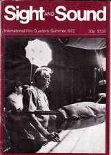 SIGHT AND SOUND Summer 1972 - Garson Kanin interview, Andy Warhol Iconographer