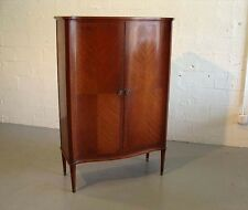 original tall beautiful mahogany cabinet by nordiska kompaniet sweden frank