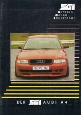 Audi A4 Saloon SGI Bodystyling Accessories Late 1990s German Market Brochure