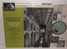 CSD 1449 Liszt Franck Reger Fernando Germani Organ Recital At Selby Abbey G/G