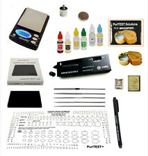 Gold Acid Testing Kit + Electronic Diamond Tester Checker + Digital Test Scale