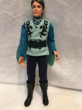 Barbie Ken Prince Carlos Doll Mariposa Ken doll 2007 Jointed Molded Hair In Blue