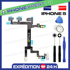 NAPPE FLEX DU BOUTON POWER ON/OFF + VOLUME + VIBREUR pour IPHONE 5 + OUTILS
