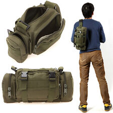 Military Assault Combined Backpack Rucksack Sport Molle Camping Travel Bag Green