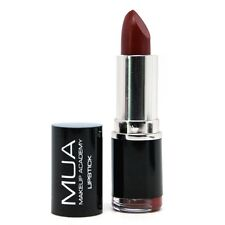MUA Makeup Academy Shade 1 Deep Red  Lipstick New