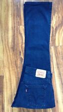 SUPER SEXY HOT! LEVIS 515 BOOTCUT BLUE/BLACK JEANS 6M W31 L32 Free Priority Ship