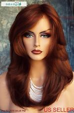 """BRANDI"" AMORE RENE OF PARIS MONO TOP WIG * GORGEOUS CHESTNUT  *NIB"