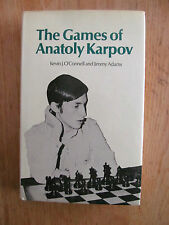 346 chess games of Anatoly Karpov O'CONNELL & ADAMS 1974