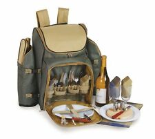 Picnic Plus Tandoor 4 Person Picnic Backpack - Sage - PS4-458S