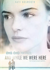And While We Were Here, Excellent DVD, Jamie Blackley, Claire Bloom, Iddo Goldbe