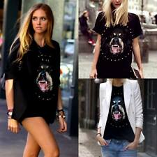 Wilde Heart Black tees celebrity Rottweiler - Leatherette sleeves BNWT Size 6,10