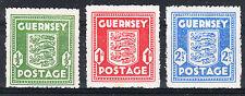 Besetzung Kanalinseln Guernsey Michel-Nr.: 1-3 ** (Bx81)